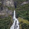 Friaren Waterfall on the Geirangerfjord, Norway. Sept. 16, 2019