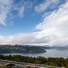 Nordfjord/Innvikfjord from above Utvik, Norway. Sept. 16, 2019