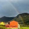 Rainbow over Hornindal, Norway. Sept. 16, 2019