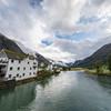 Oldeelva river, Olden, Norway. Sept. 16, 2019