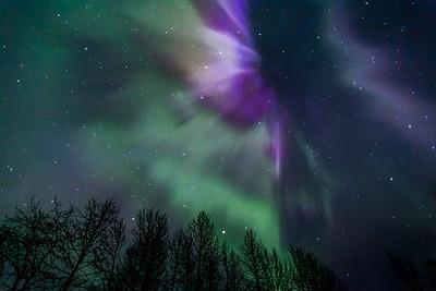 Split Sky Aurora
