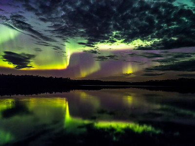 Amazing Splash Aurora