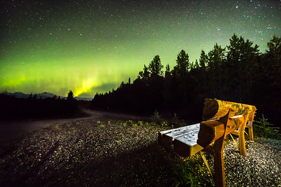 Talkeetna Overlook Aurora
