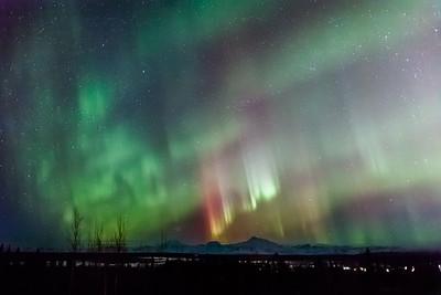 Alaska Range on Red