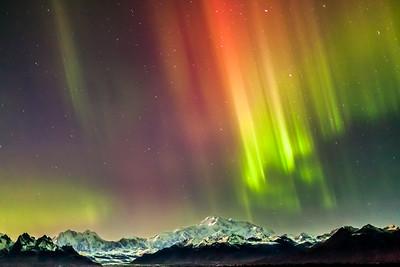 Denali & Amazing Aurora