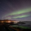Northern lights over Fredvang, Norway 10-22-2019