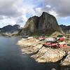 Reinefjorden, Hamnoy, Norway Sept. 21, 2019
