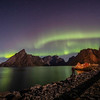 Northern lights over Hamnoy Norway Sept. 20, 2019