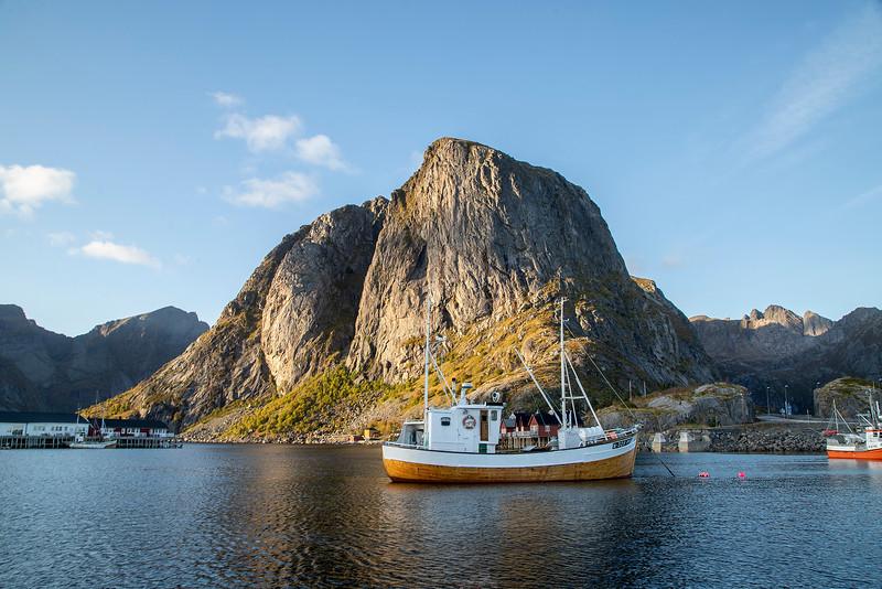 Reinefjorden, Hamnoy, Norway Sept. 22, 2019