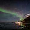 Northern lights over Ramberg, Norway 10-22-2019