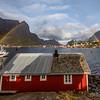 Morning Rainbow from Reine Rorbuer, Reine, Norway Sept. 21, 2019