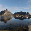Morning over Reine, Norway Sept. 24, 2019