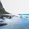 Uttakleiv strand, Lofoten Islands, Norway Sept. 21, 2019