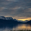 Lyngenfjord and the Lyngen Alps mountain range. Pano. Sept. 24, 2019