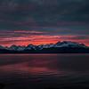Lyngenfjord and the Lyngen Alps mountain range. Sept. 24, 2019
