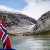 Nigardsbreen Glacier Jostedalen Valley, Norway. Sept. 16, 2019