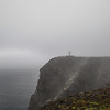 North Cape, Island of Mageroya in Northern Norway. Sept. 25, 2019