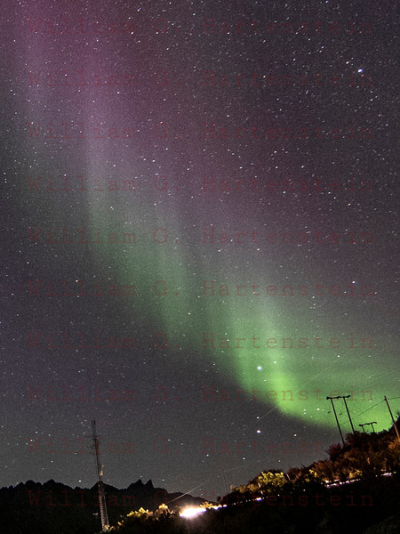 Northern Lights over Skaland, Norway Sept. 27, 2019