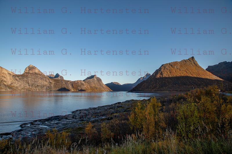 Mefjordvaer, Senja, Norway. Sept. 27, 2019
