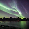 Northern Lights close to Steinfjord, Norway Sept. 27, 2019