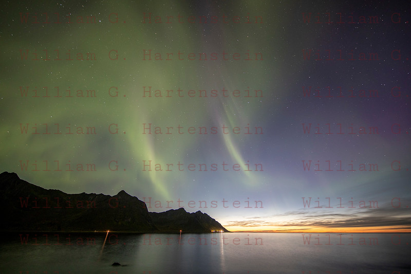 Northern Lights in Senja, Norway Sept. 27, 2019