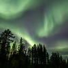 Northern Lights over Svappavaara, Sweden Sept. 28, 2019
