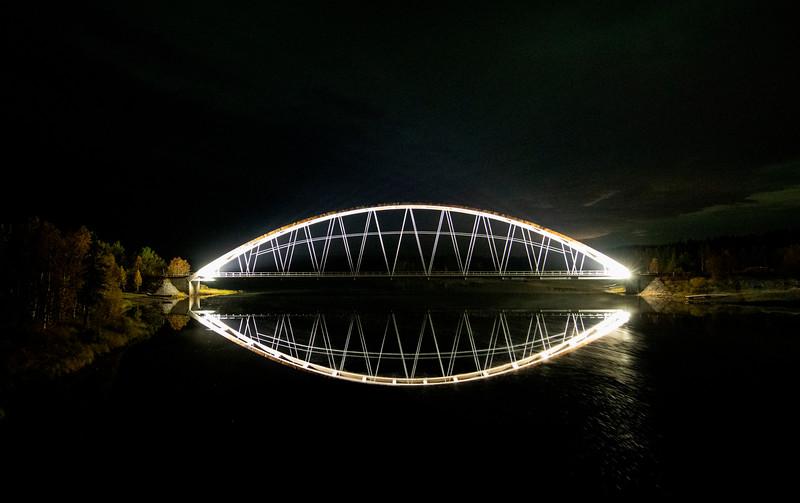 Lappeasuando Bridge Lappeasuando, Sweden Sept. 28, 2019