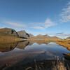Flakstadpollen, Flakstad, Lofoten Islands, Norway. Sept. 24, 2019