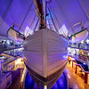 Fram is a ship that was used in expeditions of the Arctic and Antarctic regions. Fram Museum, Oslo, Norway. Oct. 1, 2019