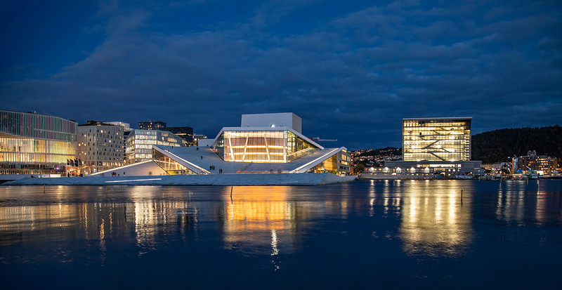 Oslo Opera House. Oslo, Norway. Oct. 1, 2019