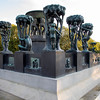 "Frogner Park and the Vigeland Installation ""Wheel of Life"", Oslo, Norway. Oct. 1, 2019"