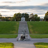 """Frogner Park and the Vigeland Installation """"Sundial"""" and """"Wheel of Life"""", Oslo, Norway. Oct. 1, 2019"""