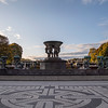"Frogner Park and the Vigeland Installation ""The Fountain"", Oslo, Norway. Oct. 1, 2019"