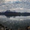 Lyngenfjord and the Lyngen Alps mountain range. Pano. Sept. 24, 2019
