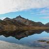 Vatterfjorden and Mt. Rulten on E10, Norway. Sept. 24, 2019