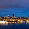 Riddarholmen, Stockholm, Sweden. Sept. 30, 2019