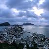 Alesund, Norway, iphone panorama, Sept. 17, 2019