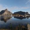 Morning over Reine, Norway Sept. 24, 2019