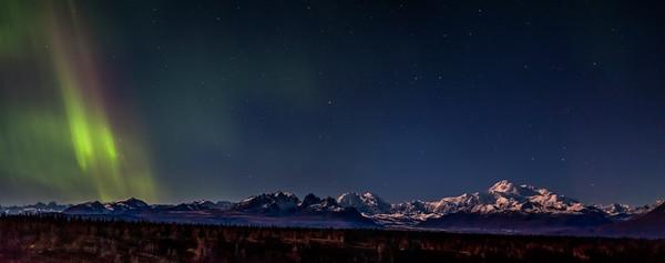 Aurora Range Panorama