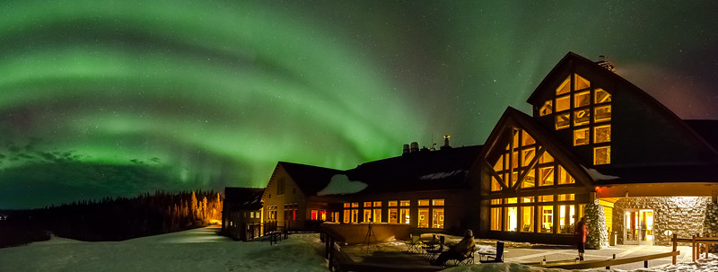 Talkeetna Alaskan Lodge Pano