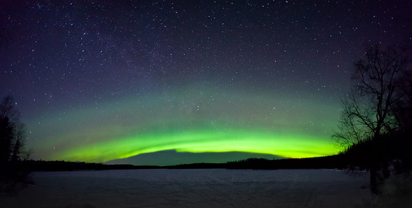 Aurora Arch Panorama