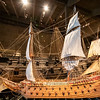 Model of the Vasa which is a Swedish warship and sank on her maiden voyage in 1628. Vasa Museum, Stockholm, Swedem. Sept. 30, 2019