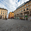 """Järntorget (Swedish for """"The Iron Square"""") is a small public square in Gamla stan, the old town in central Stockholm, Sweden. Sept. 30, 2019"""