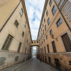"""Norra Bankogränd (Swedish: """"Northern Bank Alley"""") is an alley in Gamla stan, the old town of Stockholm, Sweden. Sept. 30, 2019"""