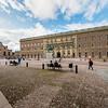 Stockholm Palace (Royal Palace) in Gamla Stan, Stockholm, Sweden. Sept. 30, 2019