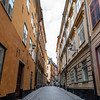 Gamla stan is the old town of Stockholm, Sweden. Sept. 30, 2019