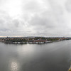 360 degree View from the top of the Tower Of Stockholm City Hall, Stockholm, Sweden. Sept. 30, 2019