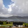 rainbow over Kvernesfjorden, Eide, Norway. Septh. 18th, 2019