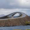 Storseisundet Bridge, The Atlantic Road, Averoy, Norway. Sept. 18th, 2019