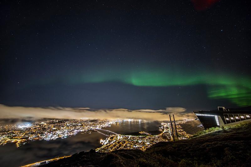 Northern Lights over Tromso, Norway Sept. 26, 2019